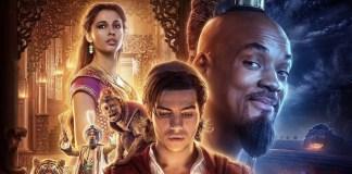 Novos Cartazes de Aladdin Mostra Um Gênio Que não é Azul