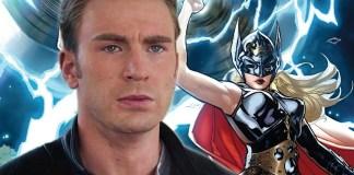 Capitão América Deixa A Porta Aberta Para Um Thor Feminino Nos Vingadores Ultimato