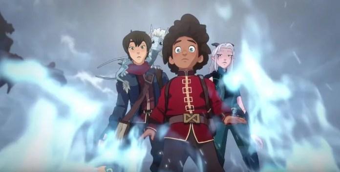 O Príncipe Dragão Terceira Temporada