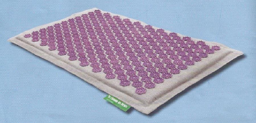 utiliser le tapis champ de fleurs le