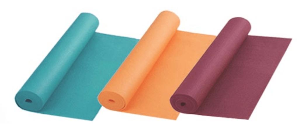 couleur tapis yoga