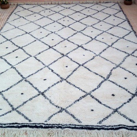 design berber woollen beni ouarain rug collection hand made in morocco
