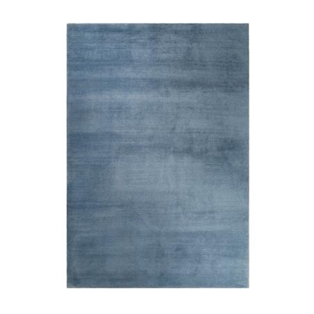 tapis shaggy bleu gris loft tapis chic