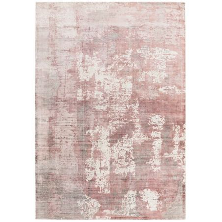 tapis contemporain bercy rose poudre tapis chic