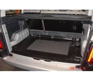 tapis de coffre pour peugeot partner de 1998 2007 avec modubox a droite