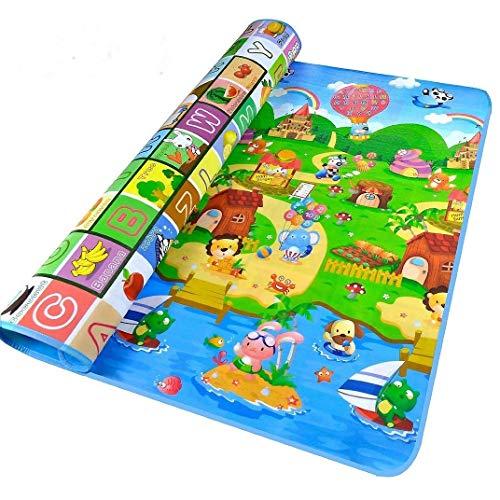 bebe mat de jeu tapis d eveil geant tapis de jeux pour bebe tapis de jeu multicolore 1 8m x 1 2m
