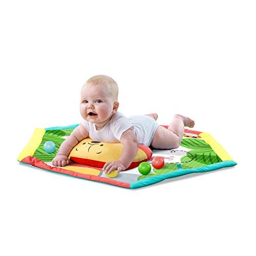 bright starts disney baby tapis d eveil winnie l ourson arche de jeu avec jouets amovibles des la naissance