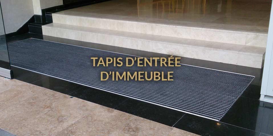 tapis entree immeuble