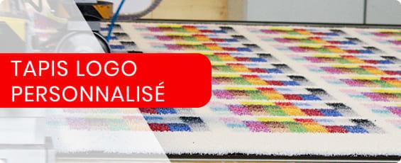 tapis personnalise avec logo sur mesure