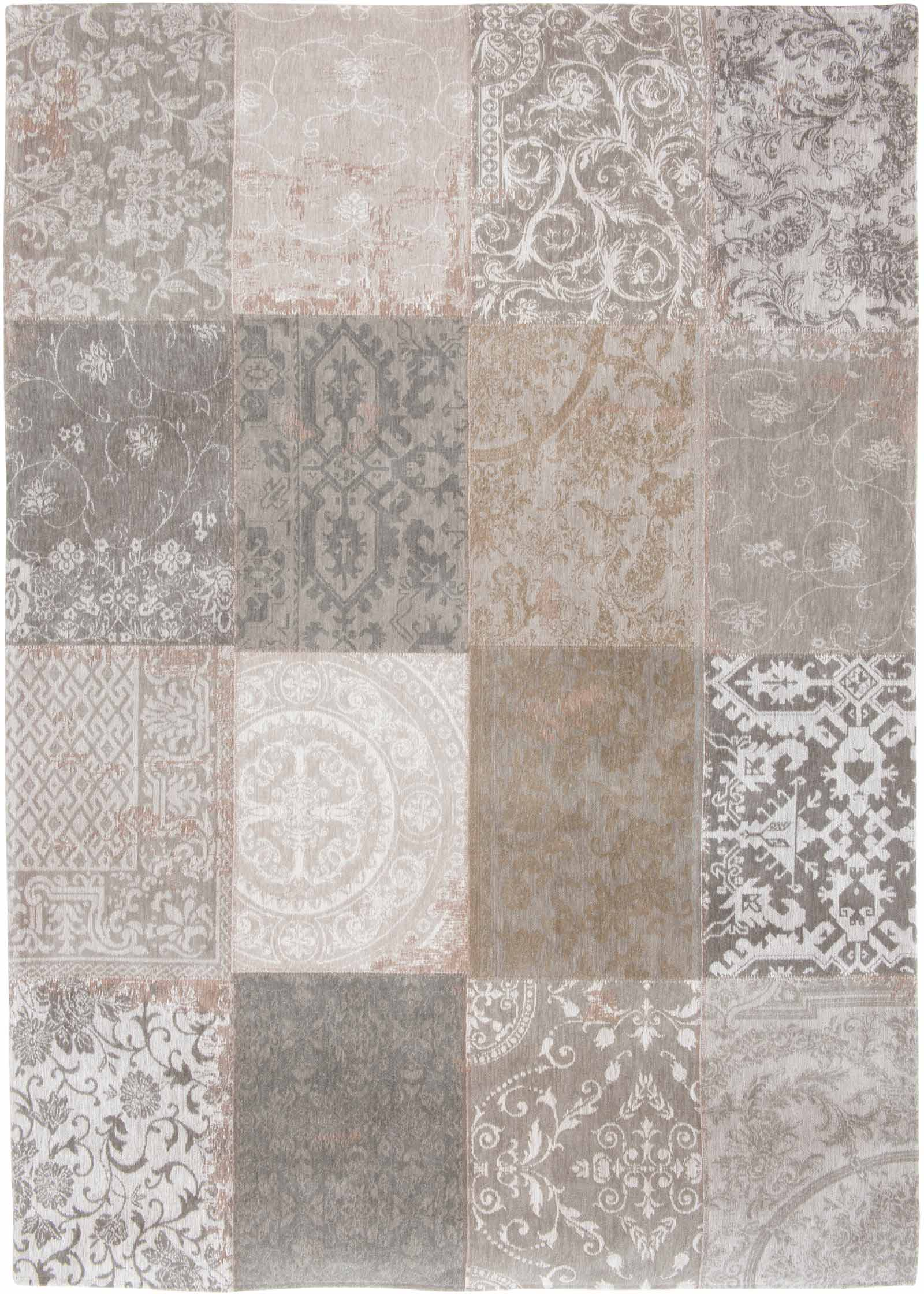 louis de poortere tapis vintage ghent beige 8982 patchwork multi design tapisdeluxe fr