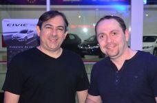 Daniel Boyadjian e Fabiano Leite