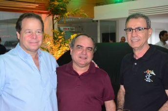 Francisco Ventura, Ricardo Nogueira e Carlos Araújo
