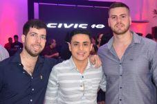 Iago Cavalcante, Lucas Guedes e Diego Alexandre