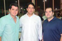 Nilton Bastos, Mateus Carvalho e Davi feitosa
