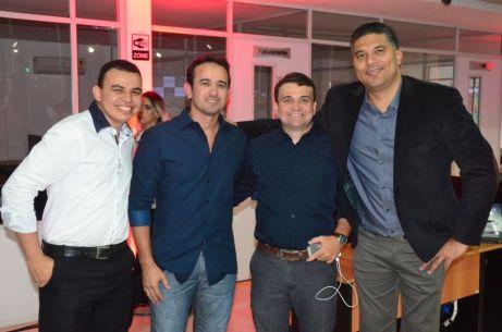 Zenildo Sousa Marcio Rogério Gomes, Tiago Araújo e Oduenavi Ribeiro