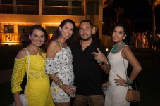 Bruna Rocha, Gisele Azim, Luiz Gustavo e Natalia Gondim