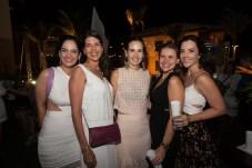 Luciana e Juliana Fiuza, Ediane Camara, Samia Gondim e Joana Fiuza