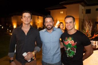 Rafael Tiê, Felipe e Victor Blum