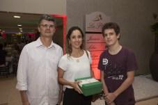 Darlan Leocadio, Maria Cecilia e Guilherme Leocadio