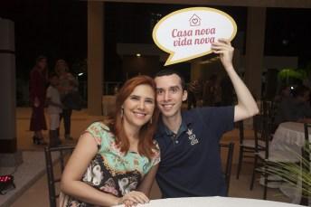 Paloma Lira e Felipe Sampaio