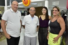 Alexandre Tomazeti, Alexandre Ribeiro, Joana Alcantara e Giordana Tomazeti
