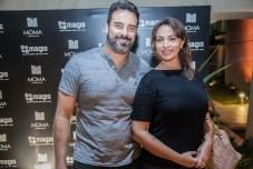 Ricado Munayer e Elaine Sa