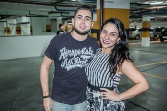 Victor Ibiapina e Rafaela Sampaio