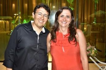 Alexandre Morão e Isabele Borges