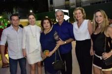 Andre, Ticiana e Edir Rolim, Pio Rodrigues, Stella Rolim e Isabela Barros Leal