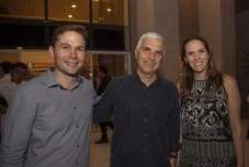 Fabio Albuquerque, Fabian Sales e Renata Santos_