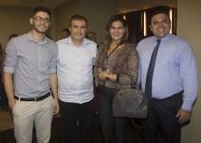 João Cavalcante, Ricardo Bezerra, Patrícia Mota e Aurélio Paiva (1)