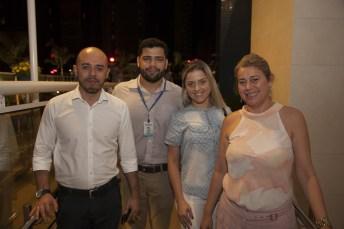 Neudo Cruz, Alex Saraiva, Kelry Queiroz e Maria Mapurunga