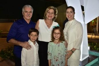Pio Rodrigues, Stella, Ticiana, Marco e Beatriz Rolim