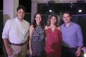 Ricardo Ary, Renata Santos, Moeuma Costa e Fabio Albuquerque