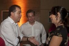 Ricardo Bezerra, Aragão Neto e Luciana Vilas Boas_