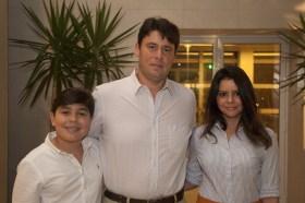 Ricardo Roberta Ary e Filho