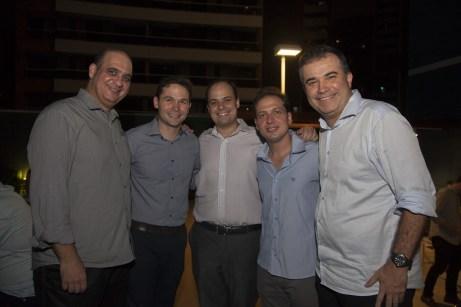 Walder Ary, Fabio Albuquerque, Felipe Okendo, Humbertinho Cavalcante e Ricardo Bezerra