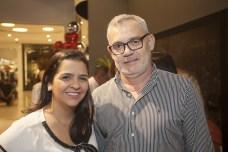 Bruna Menezes e Edson Barbosa