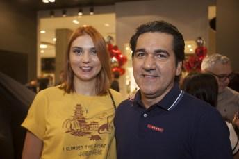 Juliana Marques e Julio Neves