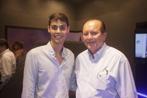 Lucio Salazar e Rafael Leal
