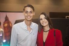 Lucio e Larissa Salazar