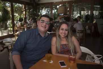 Algusto Moraes e Lorrana Vaz_