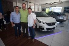 Aguimar Ferreira, Adriano Nogueira e Lewton Monteiro
