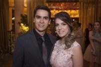 Andre Nunes e Bruna Moraes