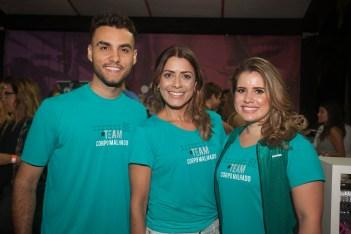 Bruno Calaça, Lu Lopes e Renata Verçosa