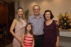Carmen Rangel, Jurandir e Eliane Picanço