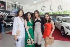 Giulia Viana, Juliana Cordeiro, Larissa Viana e Nicole Vasconcelos