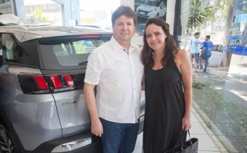 Lewton Monteiro e Sandra Firmo