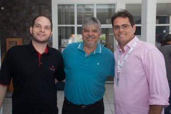 Marcos Carvalho, Paulo Paiva e Henrique Paraiso
