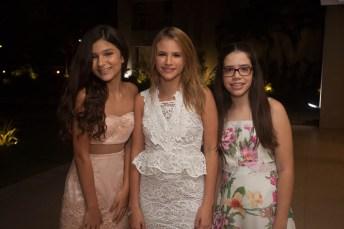 Nicole Picanço, Livia Pouchain e Helena Picanço